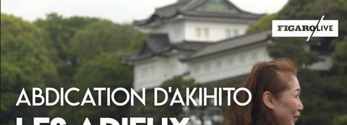 Les adieux des Japonais à l'empereur Akihito