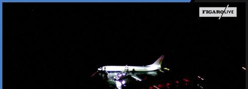 Un Boeing 737 finit son atterrissage dans un fleuve aux États-Unis