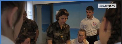 Immersion dans un centre du Service national universel