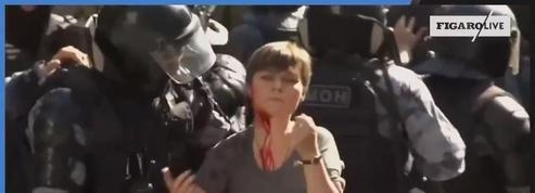 Russie : nombreuses arrestations en marge d'une manifestation interdite