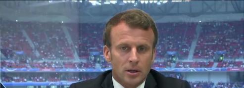 Bac : «On ne peut pas prendre nos jeunes et leurs familles en otage», réagit Emmanuel Macron