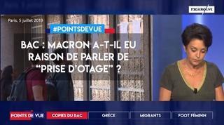 """Bac : Macron a-t-il eu raison de parler de """"prise d'otage"""" ?"""