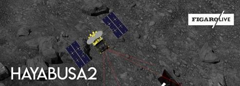 La sonde Hayabusa2 atterrit sur un astéroïde pour découvrir les origines du système solaire