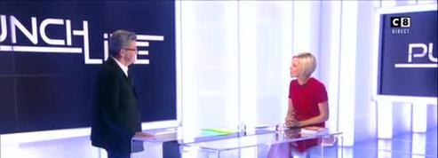 Punchline (C8) : Laurence Ferrari fait référence à l'annulation d'Arnaud Montebourg