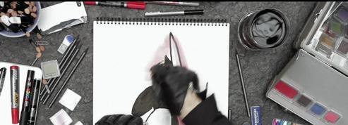 Bande-annonce du coffret Dessins de mode par Loïc Prigent