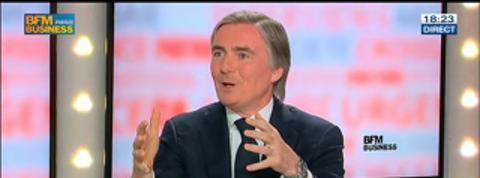 Jean-Yves Charlier, président directeur général de SFR, dans Le Grand Journal 2/4