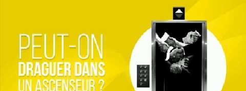 Peut-on draguer dans un ascenseur ?