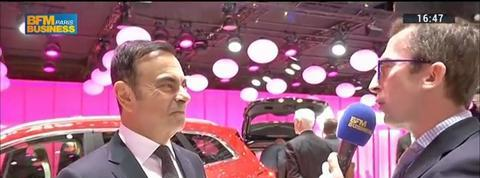 Renault présente son nouveau crossover Kadjar au Salon de l'automobile à Genève: Carlos Ghosn