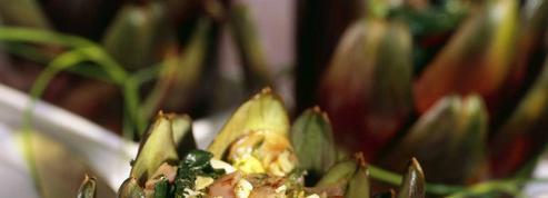 Artichauts farcis saveur méditerranéenne