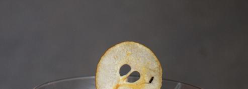 La crème panna cotta aux fruits d'hiver