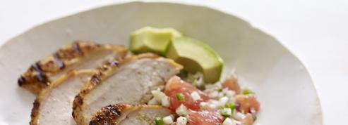 Poulet grillé à la cubaine et sa Salsa Fresca