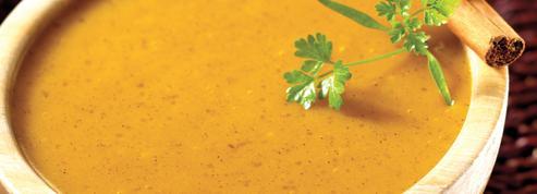Velouté de carottes aux épices