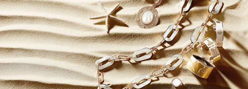 Bagues, créoles, colliers, bracelets: des trésors des sables