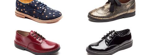 Les derbys, chaussures stars de la rentrée des petits