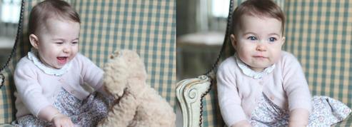 Les adorables portraits de Charlotte réalisés par Kate Middleton pour ses 6 mois