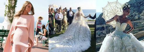 Anna Dello Russo, demoiselle d'honneur du mariage le plus fou de la saison