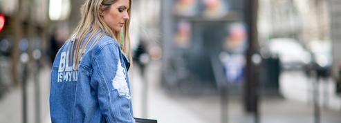 Comment porter la veste en jean?