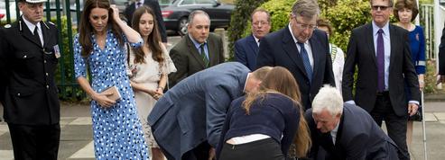 Kate Middleton : son indifférence gênante devant la chute d'un garde