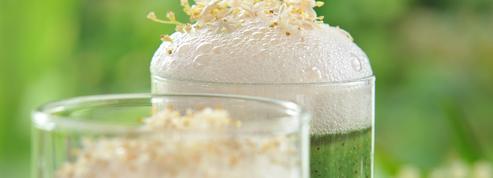 Jus de kiwi des Landes et fleurs de sureau