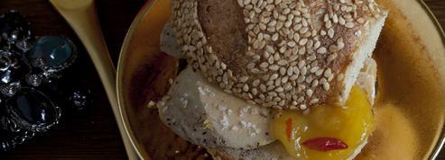 Mini-burger au foie gras express
