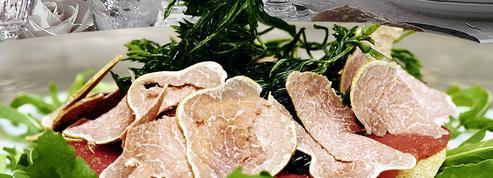 Croustillants de tomate à la truffe blanche