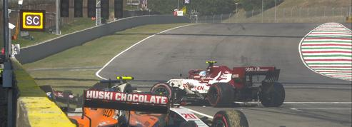 Accidents en série au Grand Prix de Toscane
