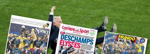 Un sacre «à l'italienne» : la presse étrangère salue, ou regrette, la victoire des Bleus