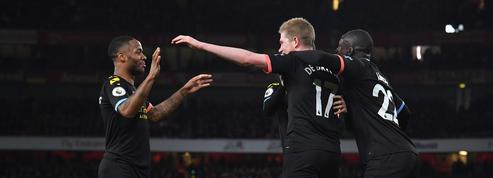 Manchester City ne fait qu'une bouchée d'Arsenal