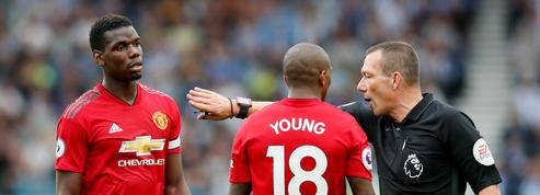 Un de chute pour Manchester United et Pogba