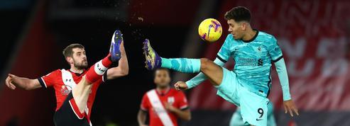 Un Liverpool hors-sujet s'incline à Southampton