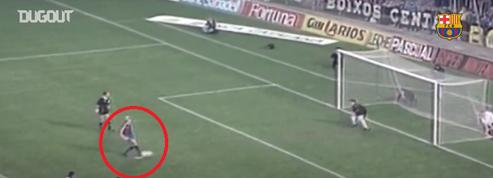 Quand Ronald Koeman marquait face à l'Atlético Madrid