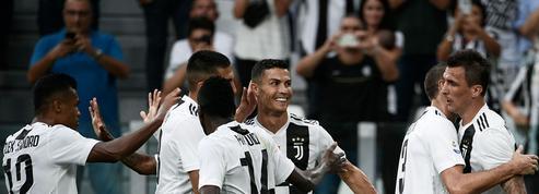 Ronaldo toujours muet mais la Juve enchaîne