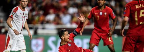 Le Portugal perd deux points et… Ronaldo contre la Serbie