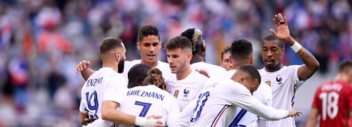 Les Bleus séduisent avant l'Euro, Benzema inquiète