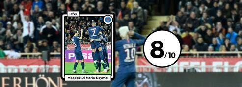 Les notes de Monaco-PSG : Mbappé-Neymar-Di Maria, quel régal