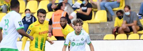 Premier match sans victoire pour Saint-Etienne, accroché à Nantes