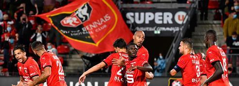 Vainqueur sur le fil de Monaco, Rennes prend les commandes de la Ligue 1