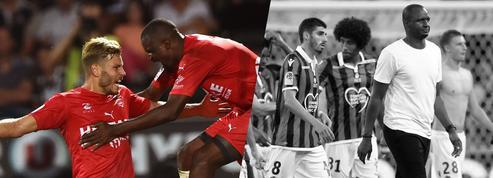 Tops/Flops de la soirée de Ligue 1 : les promus ont montré les crocs, Nice passe à côté
