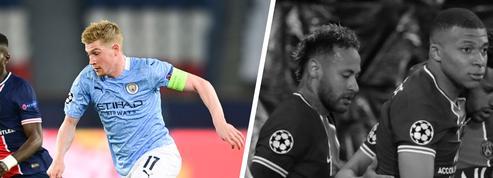 Tops/Flops PSG-Man. City : De Bruyne bourreau de Paris, Neymar et Mbappé aux abonnés absents