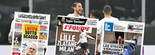 Revue de presse après l'exploit de Lille : Yazici le «magicien», le LOSC «zlatane» l'AC Milan