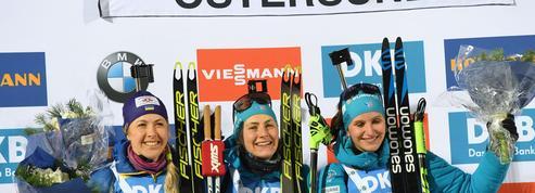 Biathlon : la fête se poursuit pour la France avec Justine Braisaz