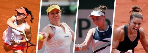 Quatre raisons de suivre les quatre surprenantes demi-finalistes ce jeudi à Roland-Garros