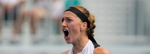 Miami : Petra Kvitova trop forte pour Caroline Garcia