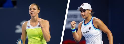 Pliskova-Barty : Une finale pour un premier titre en Masters 1000
