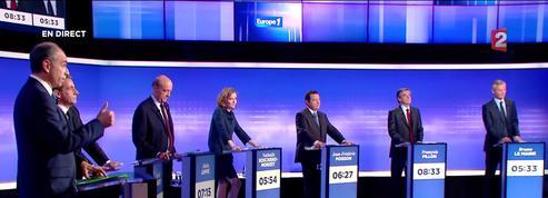 Primaire à droite: revivez les temps forts du dernier débat avant le 1er tour