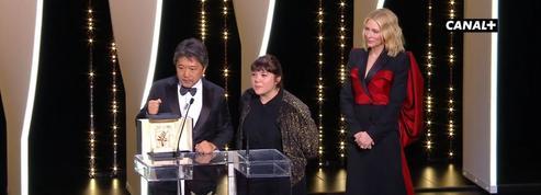 Festival de Cannes: revivez la cérémonie de clôture minute après minute