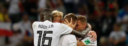 Coupe du monde 2018 : Toni Kroos sauve l'Allemagne au bout du temps additionnel face à la Suède