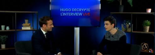 EN DIRECT - Européennes : Emmanuel Macron répond aux questions des jeunes sur Youtube