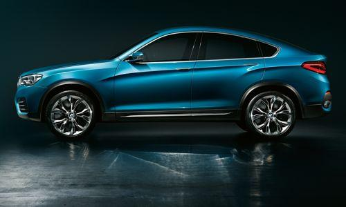 bmw x4 concept un petit fr re pour le x6 en 2014. Black Bedroom Furniture Sets. Home Design Ideas