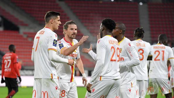 Championnat de France de football LIGUE 1 2020 -2021 De-pire-en-pire-pour-Rennes-battu-par-Lens